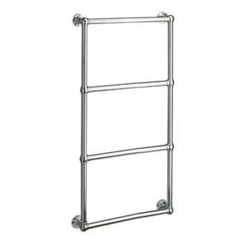 Vogue Ballerina BJ Traditional Heated Towel Rail 750mm H x 500mm W Dual Fuel