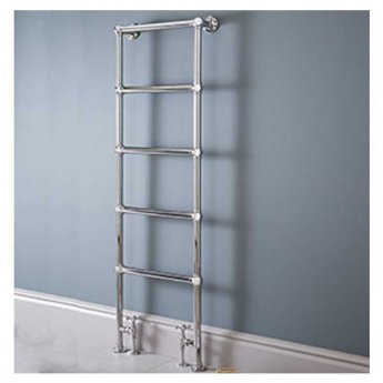 Vogue Ballerina BJ Traditional Heated Towel Rail 1538mm H x 525mm W Electric