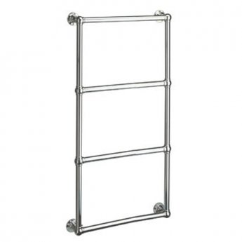 Vogue Ballerina BJ Traditional Heated Towel Rail 1275mm H x 675mm W Electric