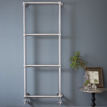 Vogue Ballerina BJ Traditional Heated Towel Rail 675mm H x 825mm W Central Heating