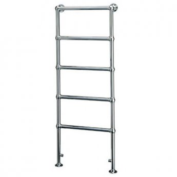 Vogue Ballerina BJ Traditional Heated Towel Rail 1238mm H x 675mm W Electric