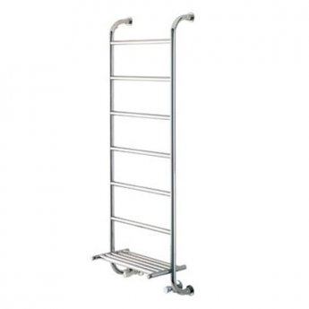Vogue Ieri 9 Heated Towel Rail 1350mm H x 500mm W Central Heating