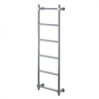 Vogue Venture Traditional Heated Towel Rail 750mm H x 450mm W Dual Fuel