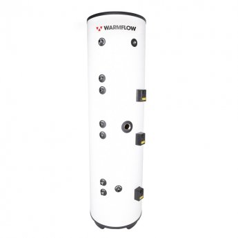 Warmflow INDIRECT Triple Coil Unvented Stainless Steel Hot Water Cylinder 250 LITRE