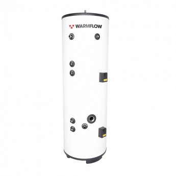 Warmflow INDIRECT Twin Coil Unvented Stainless Steel Hot Water Cylinder 210 LITRE
