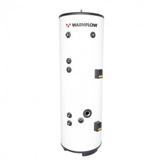 Warmflow INDIRECT Twin Coil Unvented Stainless Steel Hot Water Cylinder 300 LITRE