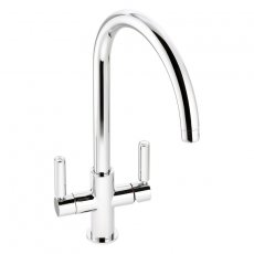 Abode Globe Aquifier Kitchen Sink Mixer Tap - Chrome