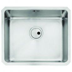 Abode Matrix R25 1.0 Bowl Undermount Kitchen Sink 530mm L x 450mm W - Stainless Steel