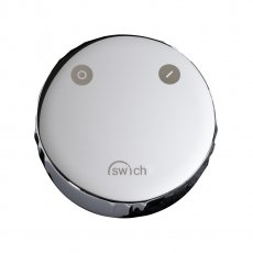 Abode Swich Round Handle Diverter Valve with High Resin Filter - Chrome