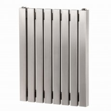 Aeon Arat E Designer Horizontal Radiator 500mm H x 590mm W - Brushed Matt
