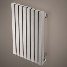 Aeon Kare E Designer Horizontal Radiator 600mm H x 490mm W - Brushed Matt