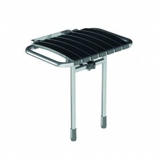 AKW Bama Slatted Compact Fold Up Seat - Grey