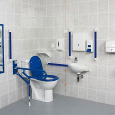 AKW Fully Compliant Doc M Pack with Close Coupled Disabled Toilet