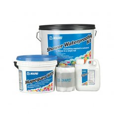 AKW Mapei 5m Wet Room Waterproof Tanking Kit 12-24 Hours Drying Time