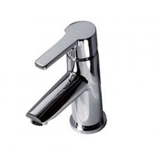 AKW Monobloc Spray Basin Mixer Tap - Polished Chrome