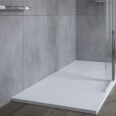 AKW Onyx Rectangular Shower Tray 1600mm x 900mm - White