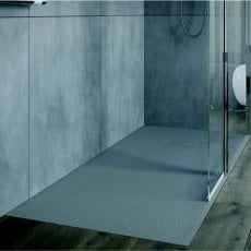 AKW Onyx Rectangular Shower Tray 1800mm x 900mm - Grey