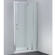 April Identiti2 Pivot Shower Door 800mm Wide - 8mm Glass