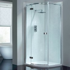 April Prestige2 Single Quadrant Shower Enclosure 900mm x 900mm Left Handed - 8mm Glass
