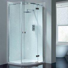 April Prestige2 Single Quadrant Shower Enclosure 800mm x 800mm Right Handed - 8mm Glass