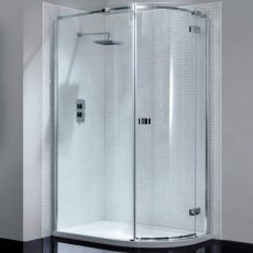 April Prestige2 Offset Quadrant Shower Enclosure 1200mm x 900mm Right Handed - 8mm Glass