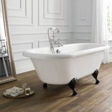 April Skipton Traditional Freestanding Bath 1700mm x 750mm - Acrylic