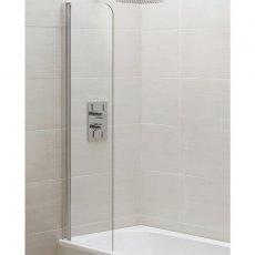 Aquadart Venturi 6 New Mini Bath Screen 1400mm High x 300mm Wide - 6mm Glass