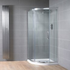 Aquadart Venturi 8 Single Quadrant Shower Enclosure 900mm x 900mm - 8mm Glass