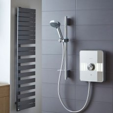 Aqualisa Lumi 10.5kW Electric Shower with Adjustable Head and Kit - Chrome
