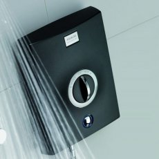Aqualisa Quartz 9.5kW Electric Shower with Adjustable Height Head Chrome / Graphite