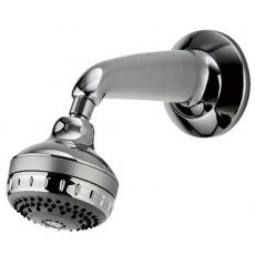 Aqualisa Turbostream Concealed Fixed Shower Head Kit Chrome
