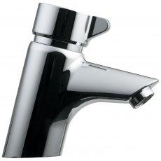 Armitage Shanks Avon 21 Push Button Self Closing Basin Mixer Tap - Chrome