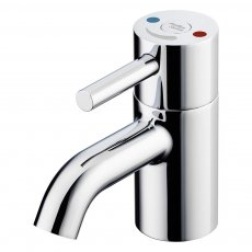 Armitage Shanks Contour 21 Plus Outline Thermostatic Basin Mixer Tap with Flexible Tails - Chrome