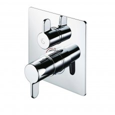 Armitage Shanks Freedom Built-in Thermostatic Shower Mixer Valve with Diverter - Chrome