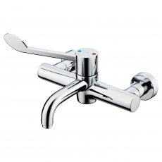 Armitage Shanks Markwik 21 Plus Thermostatic Panel Mounted Basin Mixer Tap with Lever Fixed Spout