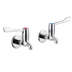 Armitage Shanks Markwik Wall Mounted Bib Taps - Chrome