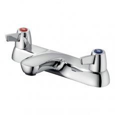 Armitage Shanks Sandringham 21 Two Hole Bath Filler with Levers - Chrome