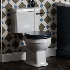 Bayswater Fitzroy Close Coupled Toilet with Lever Cistern (excluding Seat)