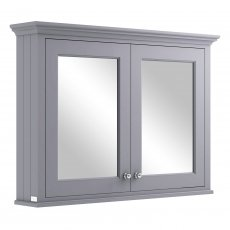 Bayswater Plummett Grey Bathroom Cabinet 750mm High x 1050mm Wide