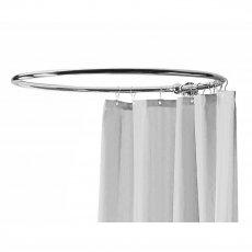 Bayswater Round Shower Curtain Ring Chrome
