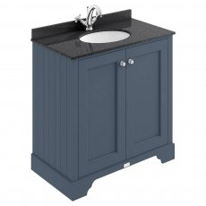 Bayswater Stiffkey Blue 2-Door Vanity Unit 800mm Wide (Excluding Basin)