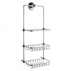 Bayswater Traditional 3-Tier Shower Tidy Chrome