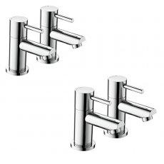 Bristan Blitz Basin Taps and Bath Taps, Chrome