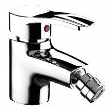 Bristan Capri Bidet Mixer Tap with Pop-Up Waste - Chrome Plated