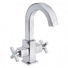Bristan Casino Mono Basin Mixer Tap, Deck Mounted, Chrome