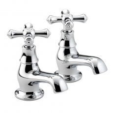 Bristan Colonial Bath Taps Chrome Plated
