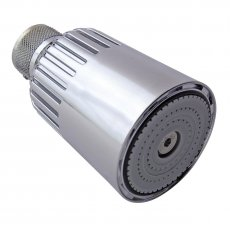 Bristan Commercial Anti-Vandal Swivel Fixed Shower Head, Chrome