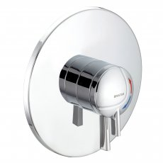Bristan Commercial TS1875 Stratus Concealed Shower Valve, Dual Concentric Controls, Chrome