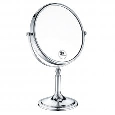 Bristan Free Standing Mirror - Chrome