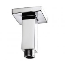 Bristan Square Ceiling Mounted Shower Arm, 75mm Length, Chrome